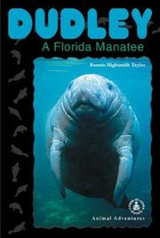 Cover of: Dudley: A Florida Manatee (Cover-to-Cover Chapter Books: Animal Adv.-Water)
