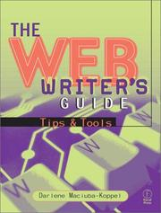 Cover of: The Web Writer