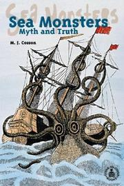 Cover of: Sea Monsters: Myth and Truth (Cover-to-Cover Informational Books: Thrills & Adv)