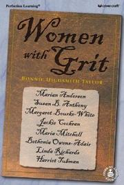 Cover of: Women With Grit (Cover-to-Cover Informational Bk)