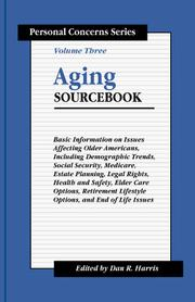 Cover of: Aging sourcebook |