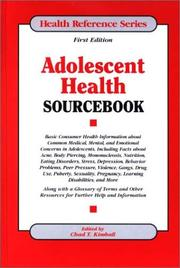 Cover of: Adolescent Health Sourcebook