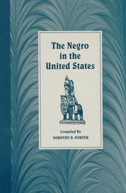 Cover of: The Negro in the United States