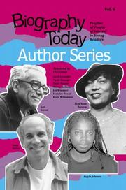 Cover of: Biography Today: Author Series : Profiles of People of Interest to Young Reader |