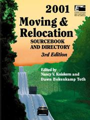 Cover of: Moving & Relocation 2001 |