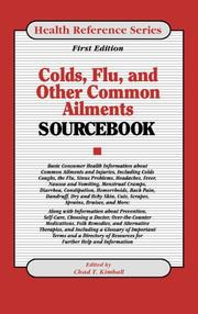 Cover of: Colds, Flu, and Other Common Ailments