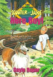 Cover of: Here boy! | Gayle G. Roper