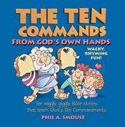 Cover of: The ten commands from God's own hands
