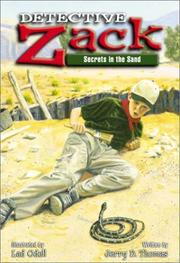 Cover of: Detective Zack, secrets in the sand | Jerry D. Thomas