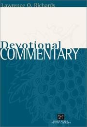Cover of: Devotional Commentary (Home Bible Study Library--Four Volume Series)