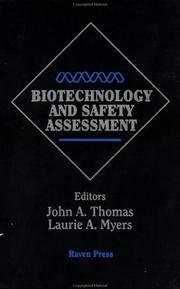 Cover of: Biotechnology and safety assessment