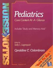 Cover of: NurseNotes | Geraldine C. Colombraro