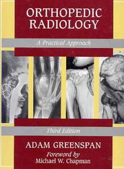 Cover of: Orthopedic radiology