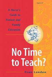 Cover of: No time to teach?
