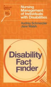 Cover of: Disability fact finder
