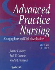 Cover of: Advanced Practice Nursing |