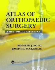 Atlas of Orthopaedic Surgery by