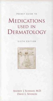 Cover of: Pocket guide to medications used in dermatology