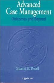 Cover of: Advanced Case Management: Outcomes and Beyond