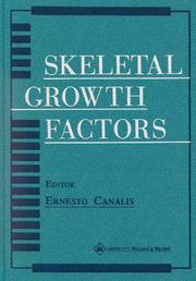 Cover of: Skeletal Growth Factors | Ernesto Canalis