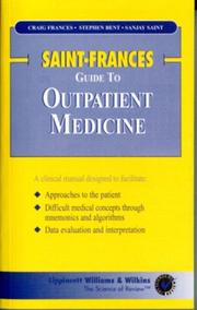 Cover of: The Saint-Frances Guide to Outpatient Medicine