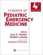 Cover of: Synopsis of Pediatric Emergency Medicine | Gary R. Fleisher