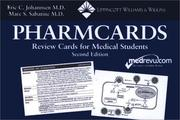 Cover of: Pharmcards | Eric C Johannsen