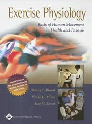 Cover of: Exercise physiology | Stanley P. Brown