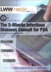 Cover of: The The 5-Minute Infectious Diseases Consult for PDA | Sherwood L Gorbach