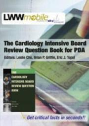 Cover of: The The Cardiology Intensive Board Review Question Book | Leslie Cho