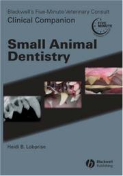 Cover of: Blackwell's Five-Minute Veterinary Consult Clinical Companion Small Animal Dentistry