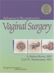 Cover of: Advances in Reconstructive Vaginal Surgery | S. Robert Kovac