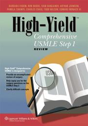 Cover of: High-Yield™ Comprehensive USMLE Step 1 Review (High-Yield™ Series) | Barbara Fadem
