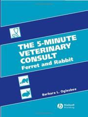 Cover of: 5-minute veterinary consult | Barbara L. Oglesbee