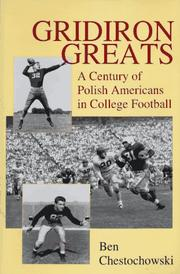Cover of: Gridiron greats