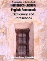 Cover of: Romansch-English, English-Romansch