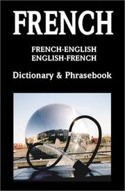 Cover of: French-English/English-French dictionary & phrasebook. |