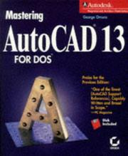 Cover of: Mastering AutoCAD 13 for DOS