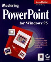 Cover of: Mastering PowerPoint for Windows 95