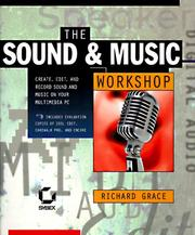 Cover of: sound & music workshop | Rich Grace