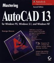 Cover of: Mastering AutoCAD 13 for Windows