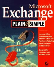 Cover of: Microsoft Exchange plain & simple