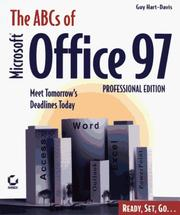 Cover of: The ABCs of Microsoft Office 97 Professional Edition