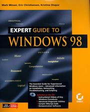 Cover of: Expert guide to Windows 98