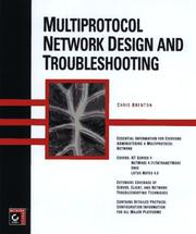 Cover of: Multiprotocol network design and troubleshooting | Chris Brenton