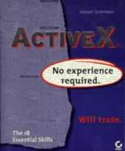 Cover of: ActiveX | Joseph Schmuller
