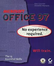 Microsoft Office 97 by Gini Courter