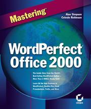 Cover of: Mastering WordPerfect Office 2000