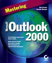 Cover of: Mastering Microsoft Outlook 2000