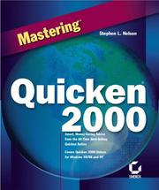 Cover of: Mastering Quicken 2000